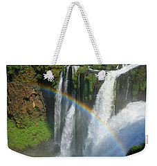 Rainbow At Iguazu Falls Weekender Tote Bag
