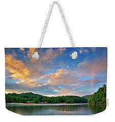 Rainbow At Linville Land Harbor Weekender Tote Bag