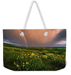 Rainbow At Steptoe Butte Weekender Tote Bag