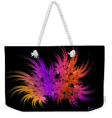 Rainbow Bouquet Weekender Tote Bag