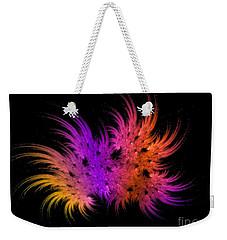 Rainbow Bouquet Weekender Tote Bag by Geraldine DeBoer