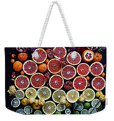 Rainbow Citrus Etc Weekender Tote Bag