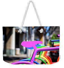 Rainbow City Weekender Tote Bag