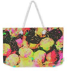 Rainbow Color Cupcakes Weekender Tote Bag