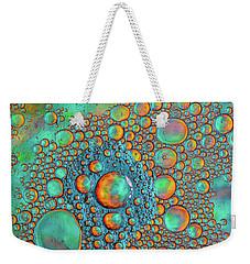 Rainbow Color Flow Weekender Tote Bag