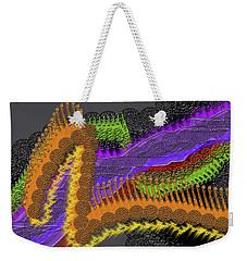 Rainbow Currents Weekender Tote Bag