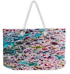Rainbow Explosion Weekender Tote Bag