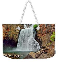 Rainbow Falls 10 Weekender Tote Bag