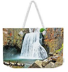 Rainbow Falls 6 Weekender Tote Bag