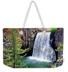 Rainbow Falls 9 Weekender Tote Bag
