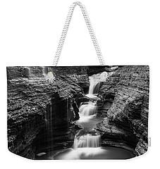 Rainbow Falls Gorge - Watkins Glen Weekender Tote Bag