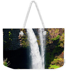 Weekender Tote Bag featuring the photograph Rainbow Falls I by Patricia Griffin Brett