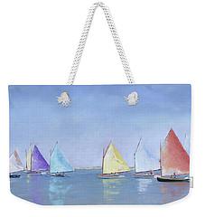 Rainbow Fleet Weekender Tote Bag