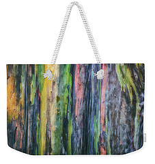 Weekender Tote Bag featuring the photograph Rainbow Forest by Ryan Manuel