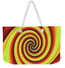 Rainbow Fun With Texture Weekender Tote Bag