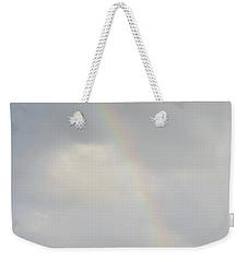 Rainbow In The Skies Of Aruba Weekender Tote Bag by DejaVu Designs