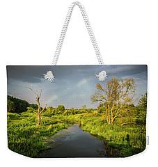 Rainbow Weekender Tote Bag by Jaroslaw Grudzinski