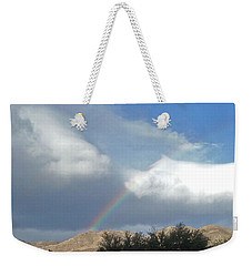 Rainbow Lighting Mountain Top Palm Desert Weekender Tote Bag