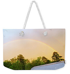 Rainbow Weekender Tote Bag by Melissa Messick