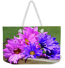 Rainbow Mums 2 Of 5 Weekender Tote Bag by Tina M Wenger