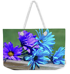 Rainbow Mums 3 Of 5 Weekender Tote Bag by Tina M Wenger