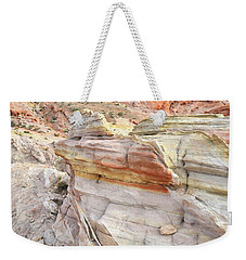 Rainbow Of Color At Valley Of Fire Weekender Tote Bag