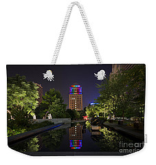 Rainbow Lights Weekender Tote Bag