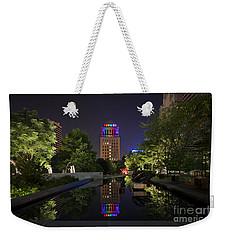 Rainbow Lights Weekender Tote Bag