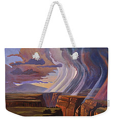 Rainbow Of Rain Weekender Tote Bag