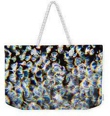 Weekender Tote Bag featuring the photograph Rainbow Ostracod by Greg Collins