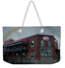 Rainbow Over Genesee Beer Weekender Tote Bag