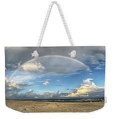 Rainbow Over Ocean Weekender Tote Bag