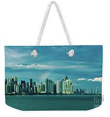 Rainbow Over Panama City Weekender Tote Bag
