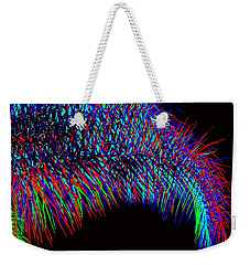 Rainbow Palms Weekender Tote Bag