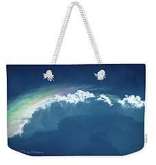 Rainbow Peeking Weekender Tote Bag