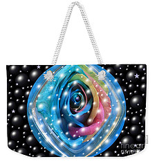 Rose Planet Weekender Tote Bag