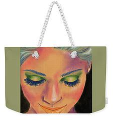 Rainbow Prayers Weekender Tote Bag by P J Lewis