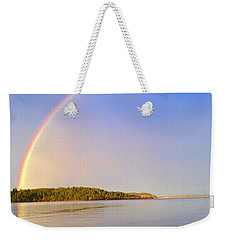 Rainbow Reflection Weekender Tote Bag