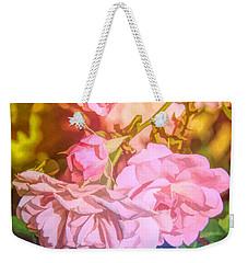 Rainbow Roses Weekender Tote Bag