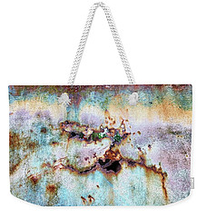 Rainbow Rust Weekender Tote Bag
