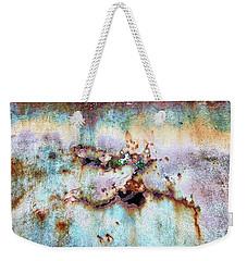 Rainbow Rust Weekender Tote Bag by Karen Stahlros