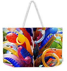 Rainbow Spirals Weekender Tote Bag