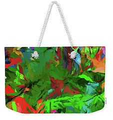 Rainbow Tropic Weekender Tote Bag