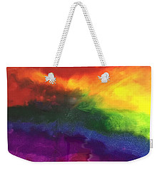 Rainbow Veins Weekender Tote Bag