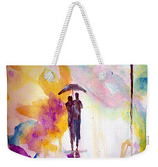 Rainbow Walk Of Love Weekender Tote Bag