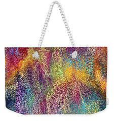 Rainbow Waterfall  Weekender Tote Bag