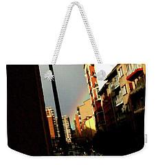 Rainbow Wink Weekender Tote Bag