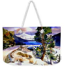 Rainbowbridge Above Donner Lake Weekender Tote Bag