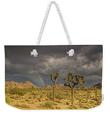 Rainbows Thunderstorms And Sunsets Weekender Tote Bag
