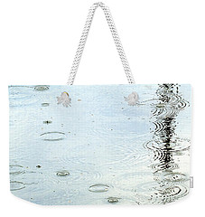 Raindrop Abstract Weekender Tote Bag